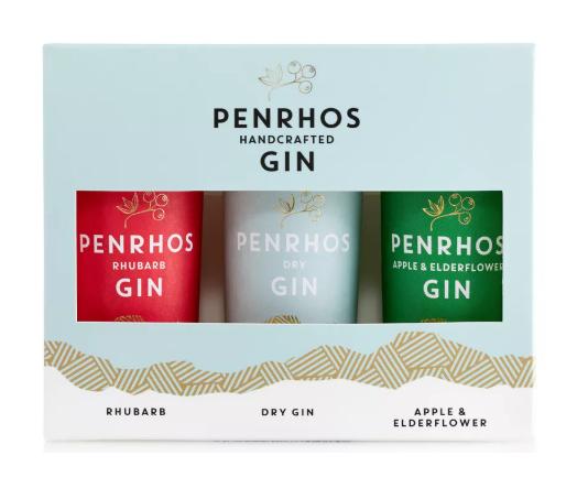 Penrhos Spirits Miniature Gin Trio