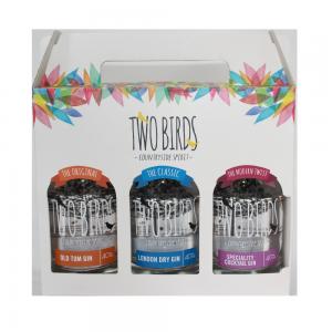 Two Birds Spirits Trio of Gin Gift Box