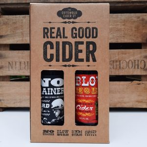 Cotswold cider 4 bottle gift box front