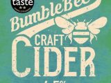 Bumblebee Cider, Craft Cider 4.5%