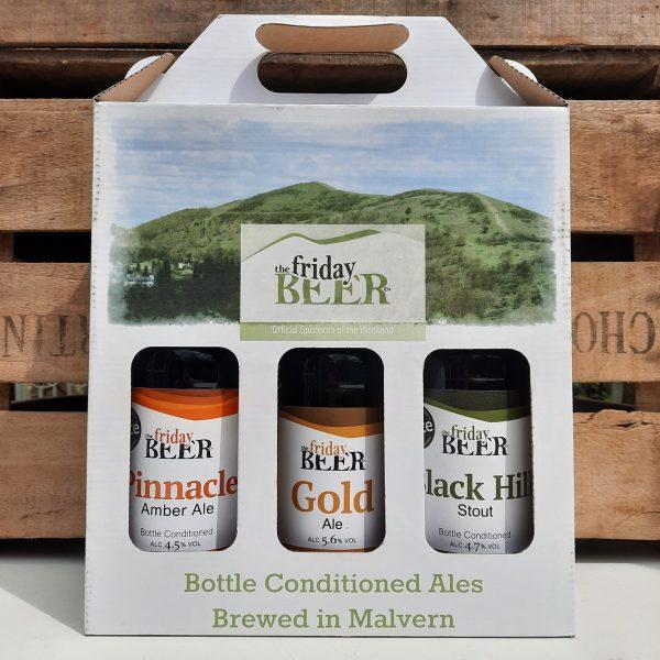 Friday Beer Co. 3 bottle gift box