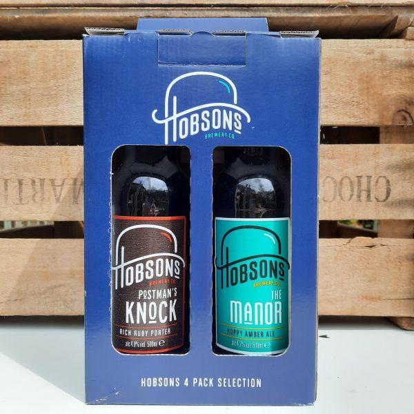 Hobsons 4 bottle Gift Box