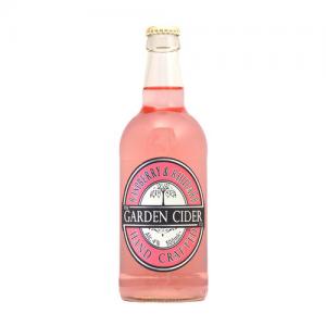 Garden Cider Raspberry and Rhubarb