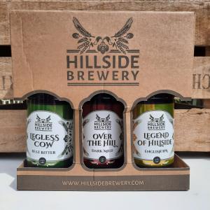 Hillside Brewery 3 bottle gift box