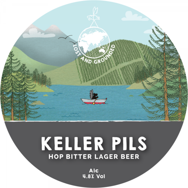 Lost and Grounded Keller Pils label