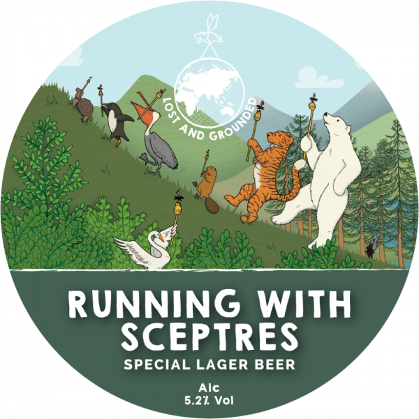 Running with Sceptres label