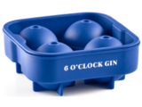 6 O'Clock Gin – 4 x Ice Ball Maker