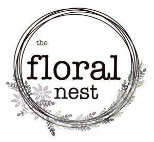 the floral nest logo