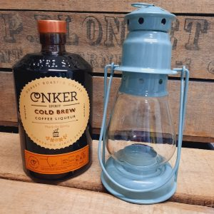 Conker Cold Brew Coffee Liquer and Lantern