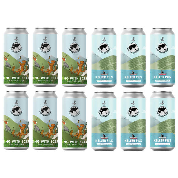 Lost & Grounded 2 Lagers Mixed Case