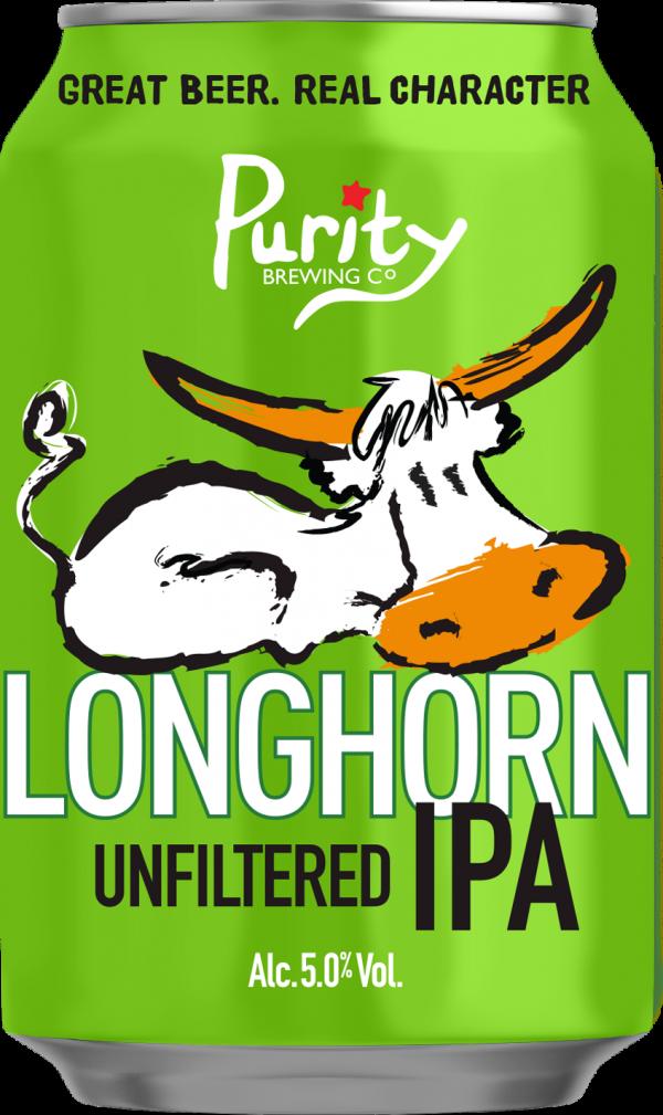 Purity Longhorn IPA can