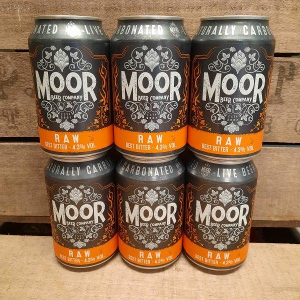 Moor Beer Raw case of 6