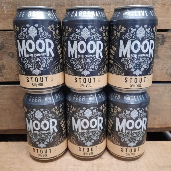Moor beer case of 6 Stout