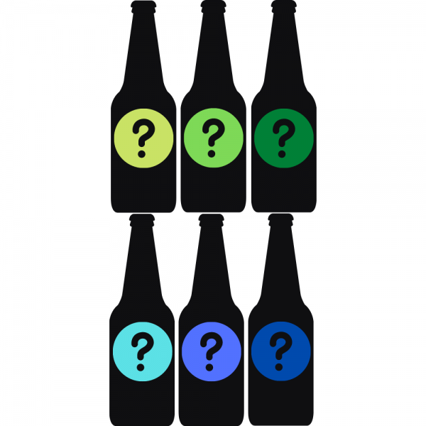 Beers for the weekend mystery case of 6 craft beers