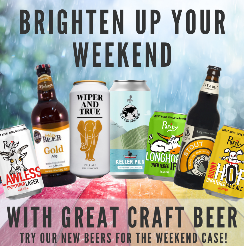 Brighten up your weekend with our Beers for the weekend case