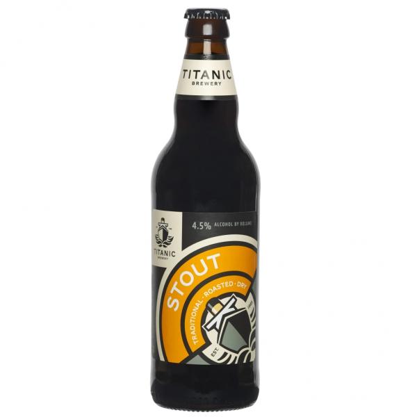 Titanic Ales Stout 4.5% 500ml