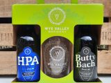 Wye Valley Brewery 2 Bottle Gift Box with Glass