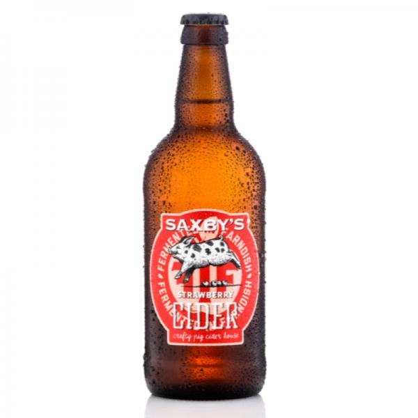 Saxby's Strawberry Cider 3.8% 500ml